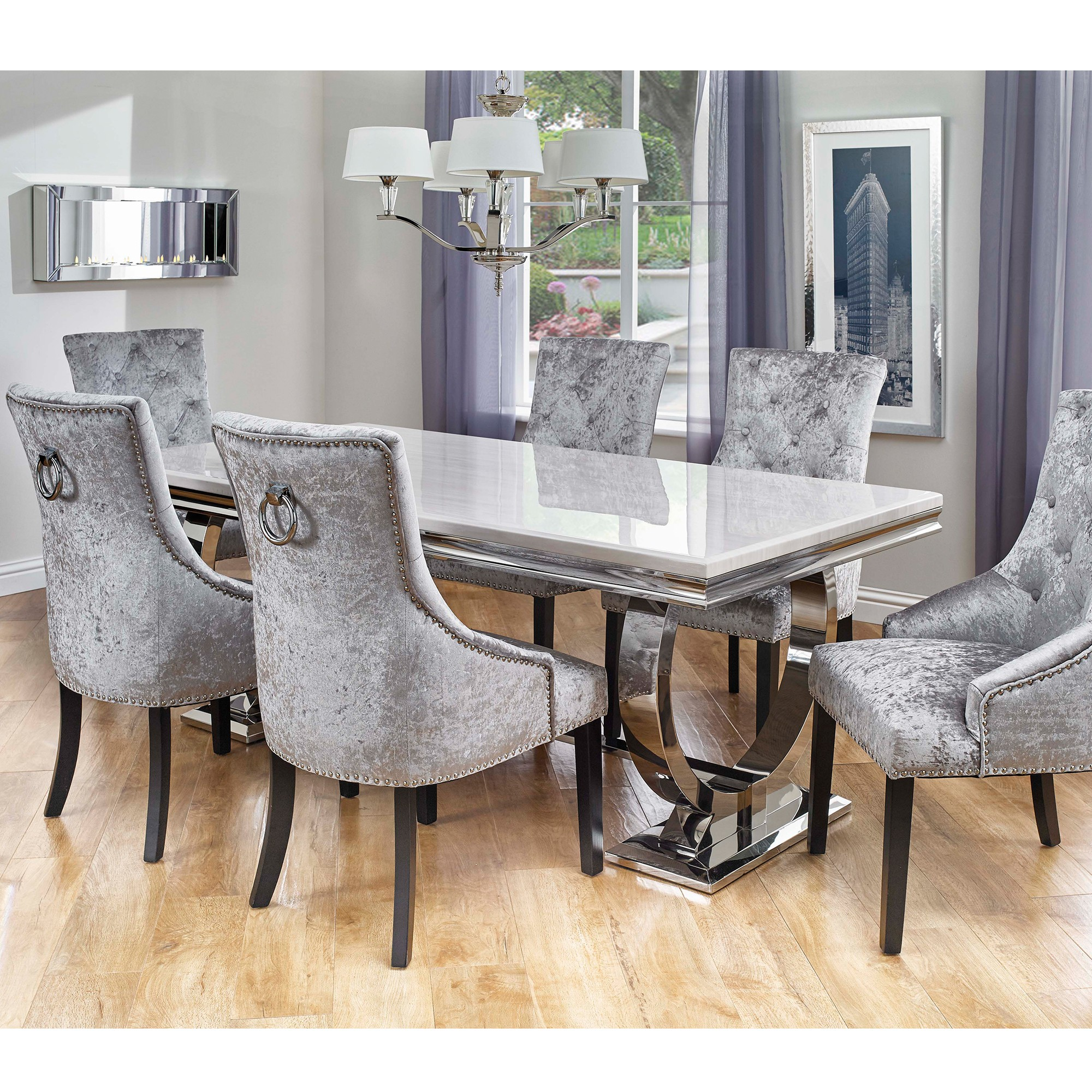 dining table cooks collection valentina dining table and 6 chairs LTDXOMX