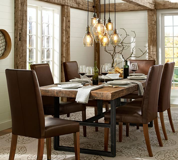 Dining table Griffin reclaimed wood Dining table, old pine |  right pottery barn YNRCCMZ