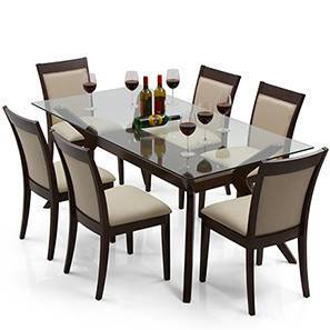 dining table wesley dalla 6 seat dining table set latte 00 img 0199 INBPMJC