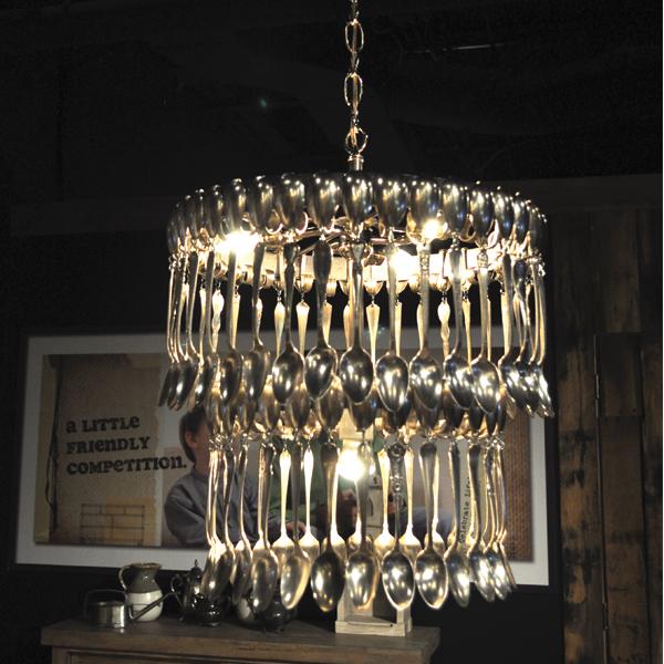 DIY chandelier 13. drums and beats chandelier OBBDZOA