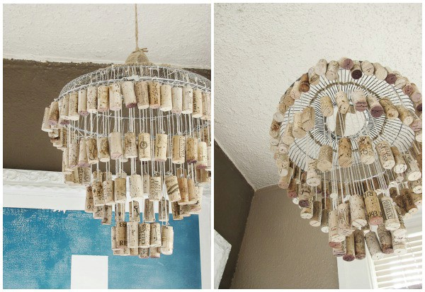 DIY chandeliers 16 ingenious DIY lamps and chandeliers to beautify your home ZBAPASK