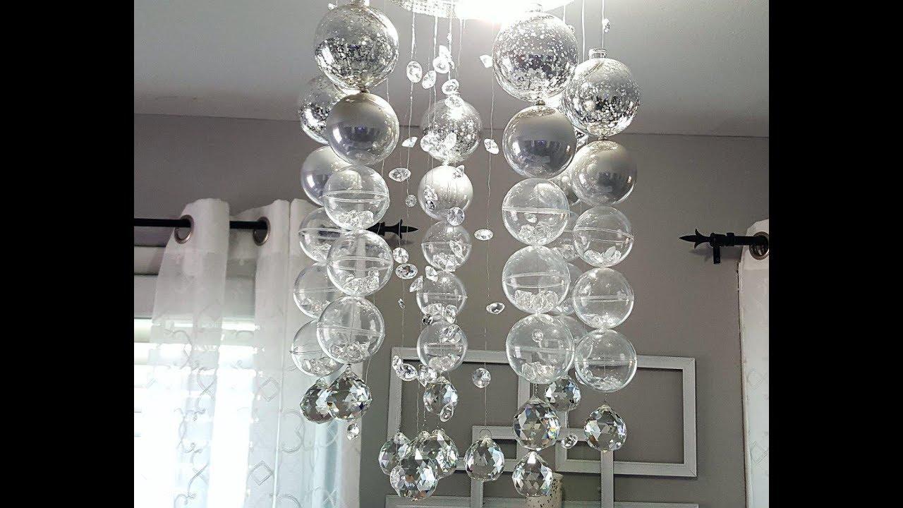 DIY chandelier Bubble chandelier DIY UKMDBQL
