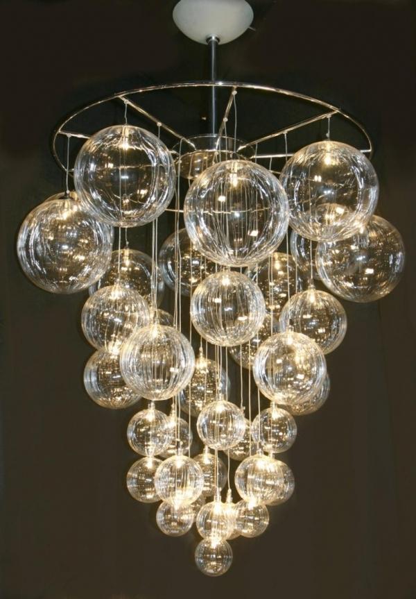 DIY chandelier DIY bubble chandelier YSOMUSC