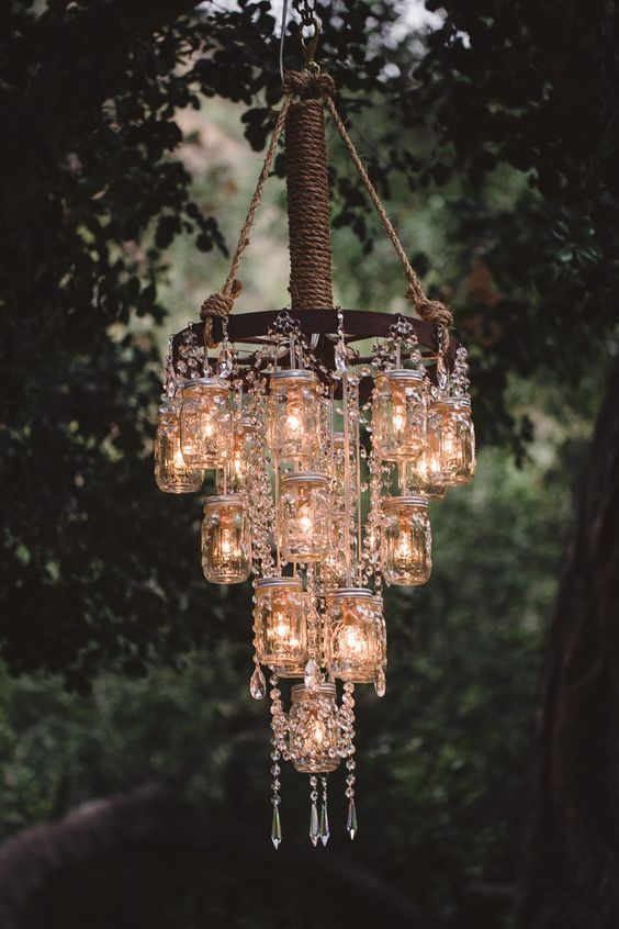 DIY chandeliers you can easily make a DIY chandelier IQWMYBG with these ideas