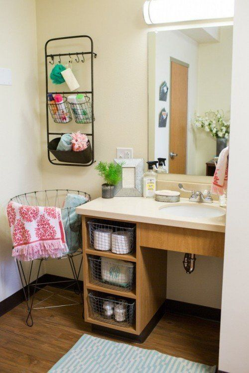 Joanna Gaines' dorm room decorating ideas are cute enough to use.