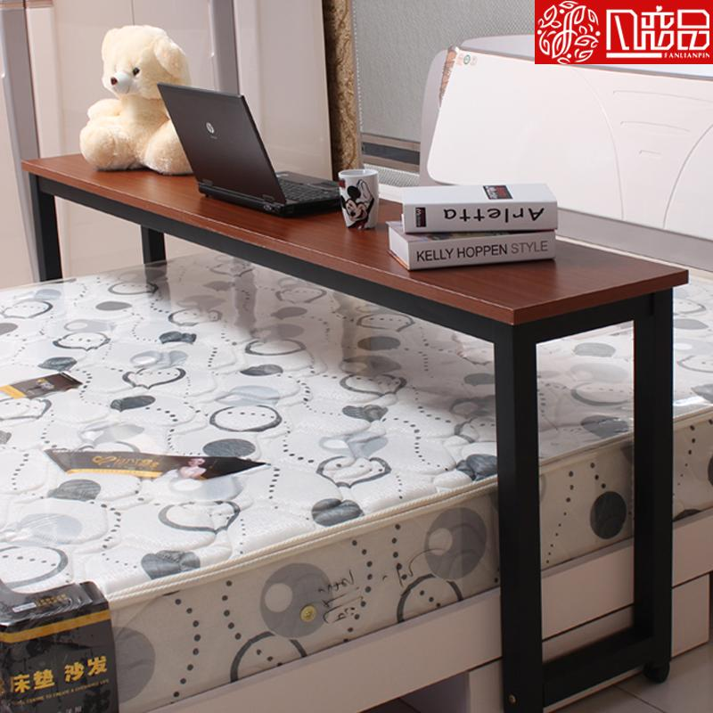 Double bed desk laptop table bedside table moves across the table VGAQZSS