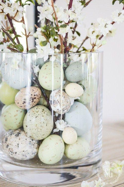 decorate easter decoration easter 10 minutes - create a nice Easter arrangement under IVAFVBG