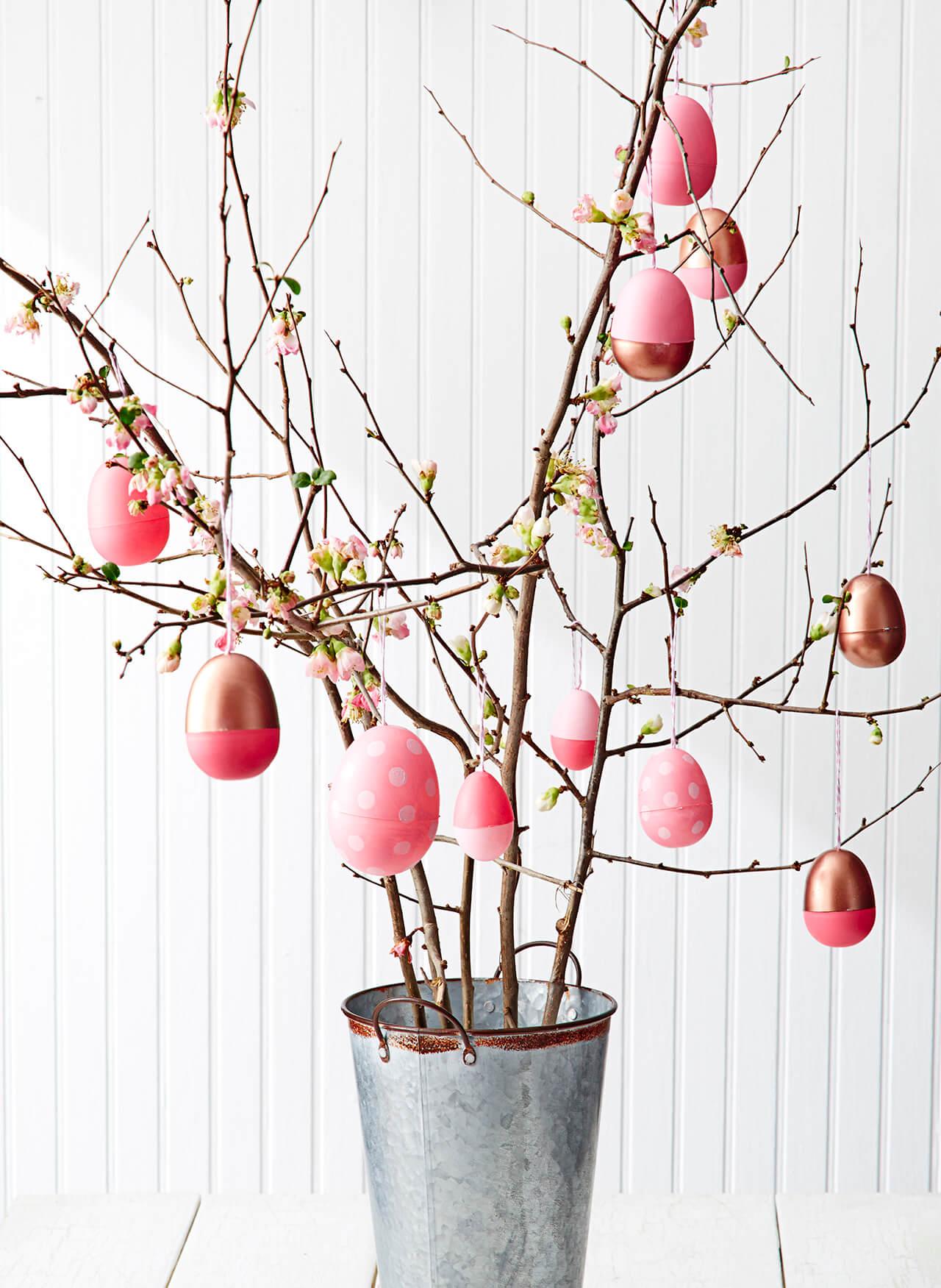 Easter decorations super easy DIY Easter egg crafts XFJFHUK