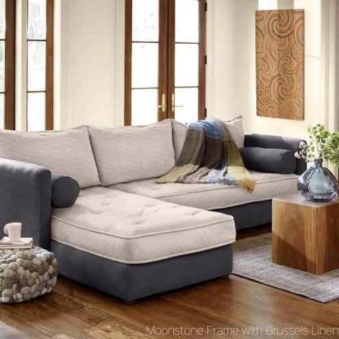 AMZLZEA eco-linen sofa bed