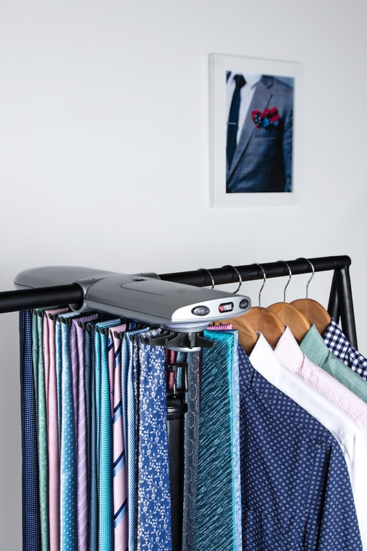 Tie holder for electronic wardrobes ... WIBMSZR