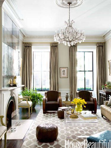 Luxe Living Rooms - Elegant living room idea