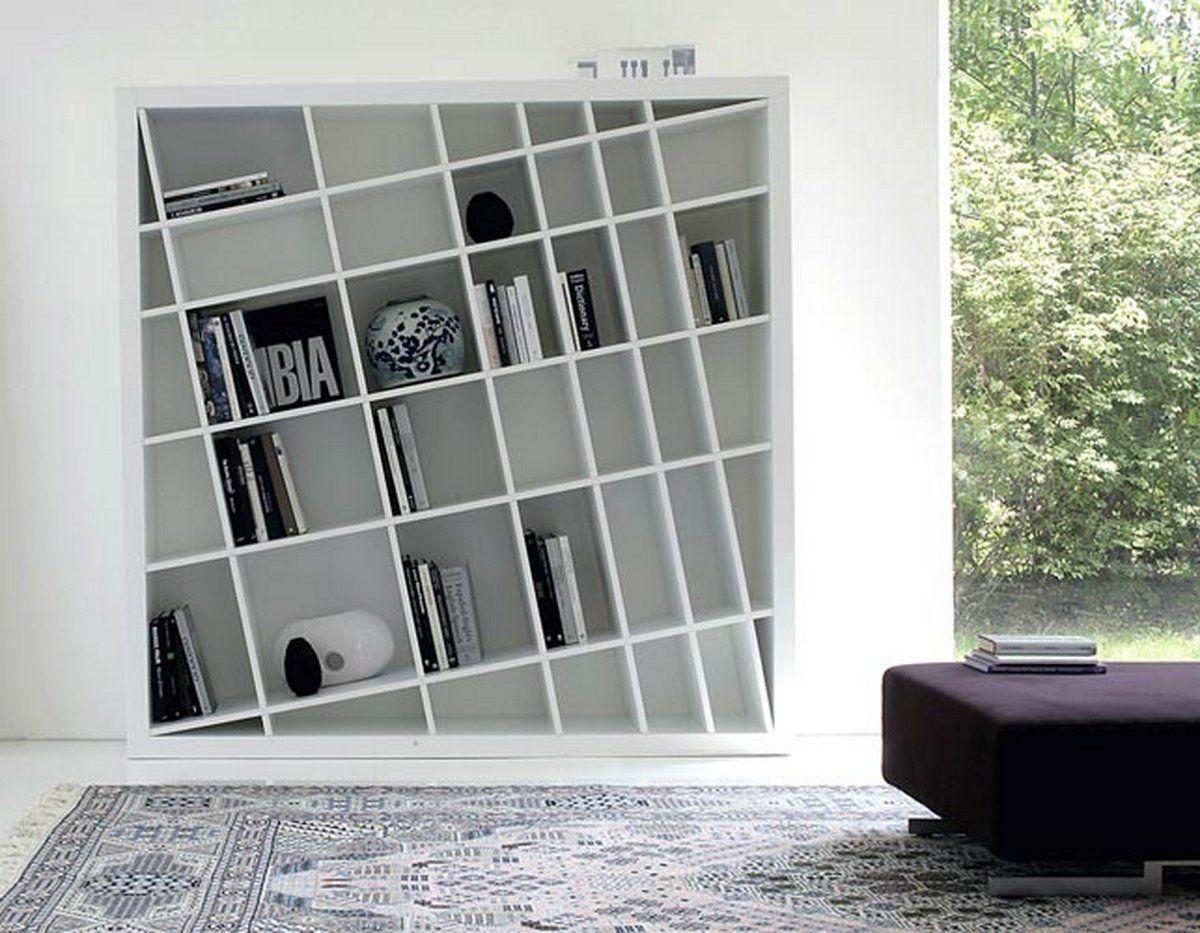 elegant modern bookcase unique design MGNTARJ