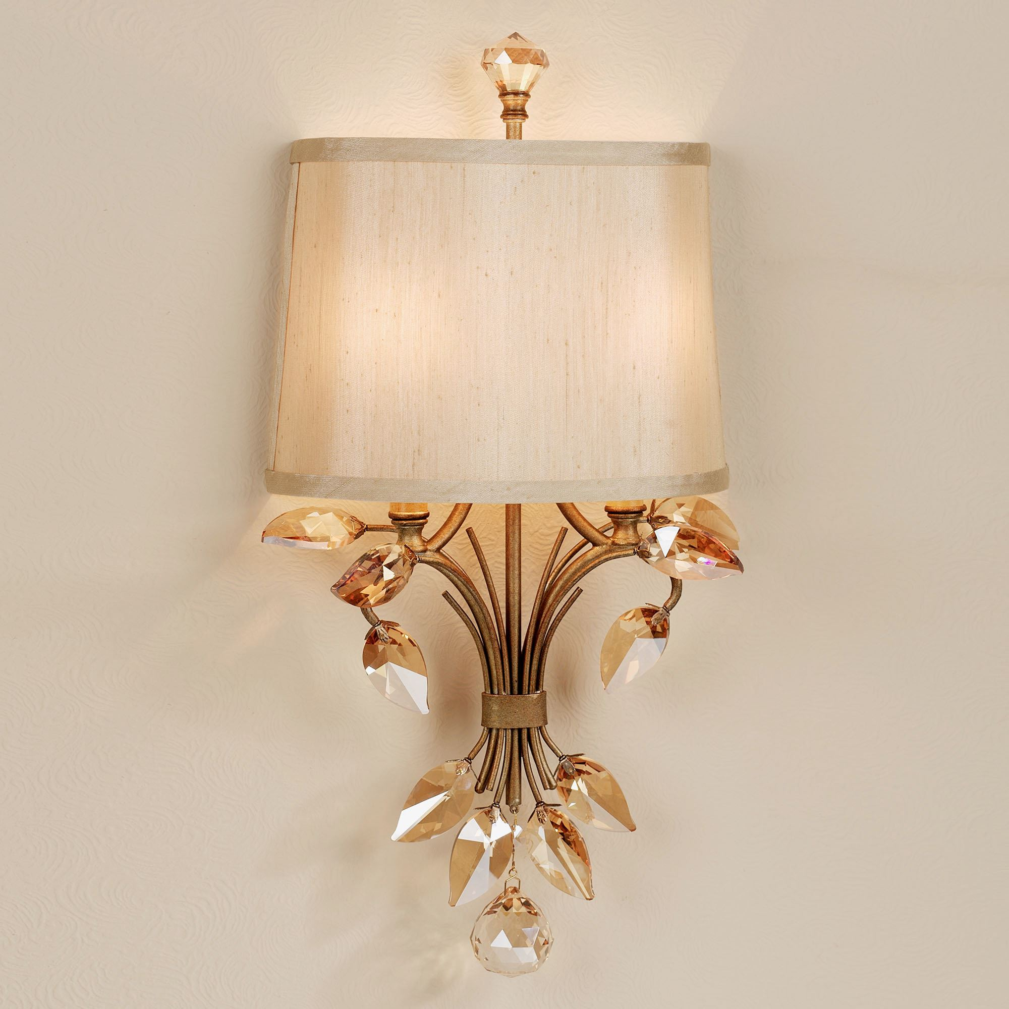 elena wall lamp gold burnished.  Touch to enlarge KPPMFQU