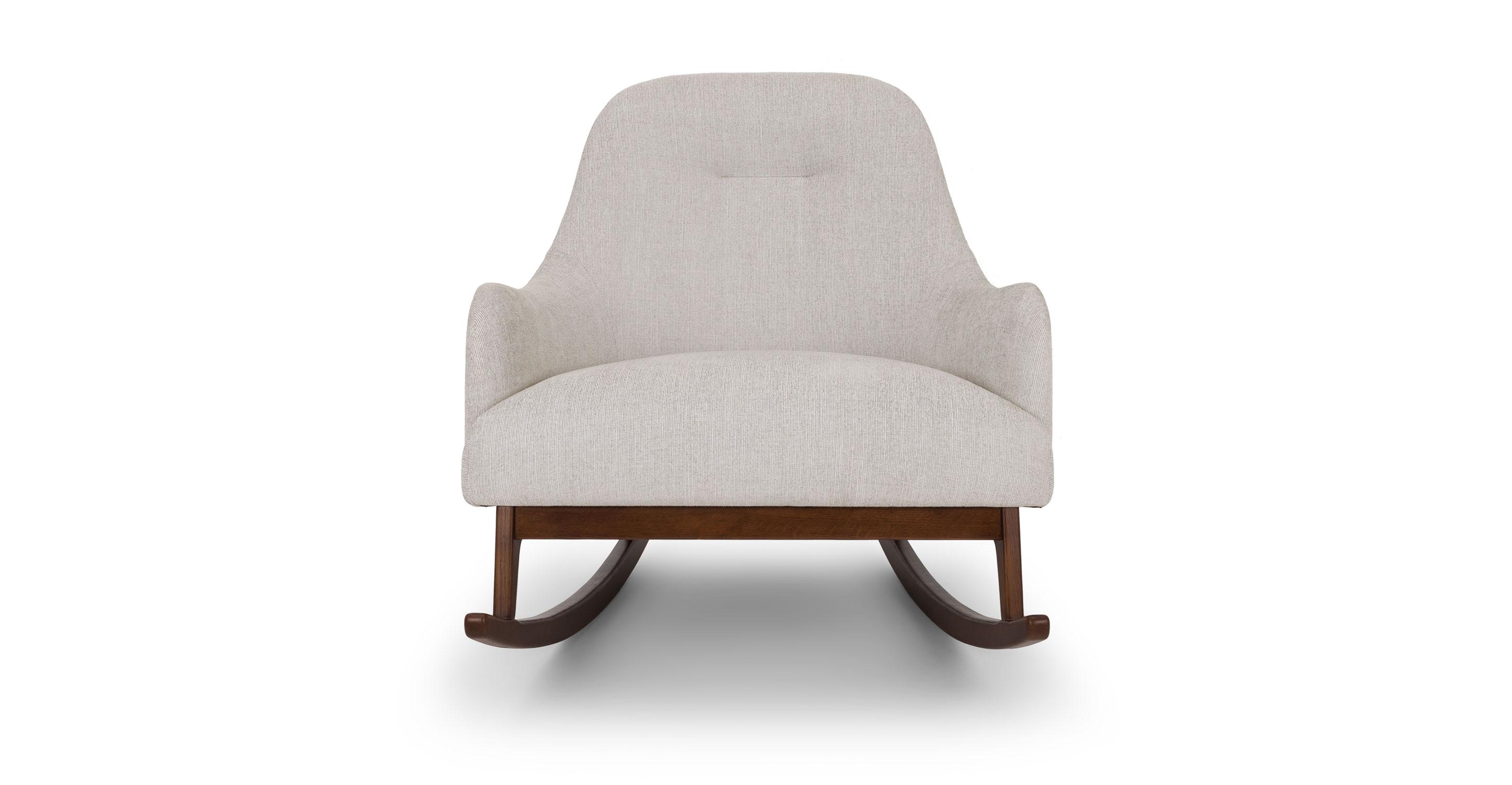 Hug coconut white rocking chair - lounge chair - Article |  modern, DLLXGDA