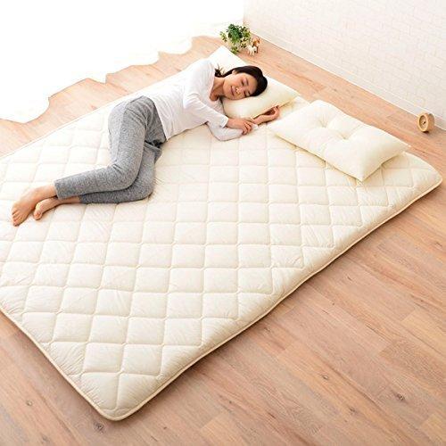 emoor japanese traditional futon mattress u201cclasseu201d, queen size.  made in Japan ZZFTKPN