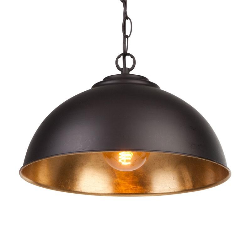 endon colman ceiling pendant light - black NREDQUV