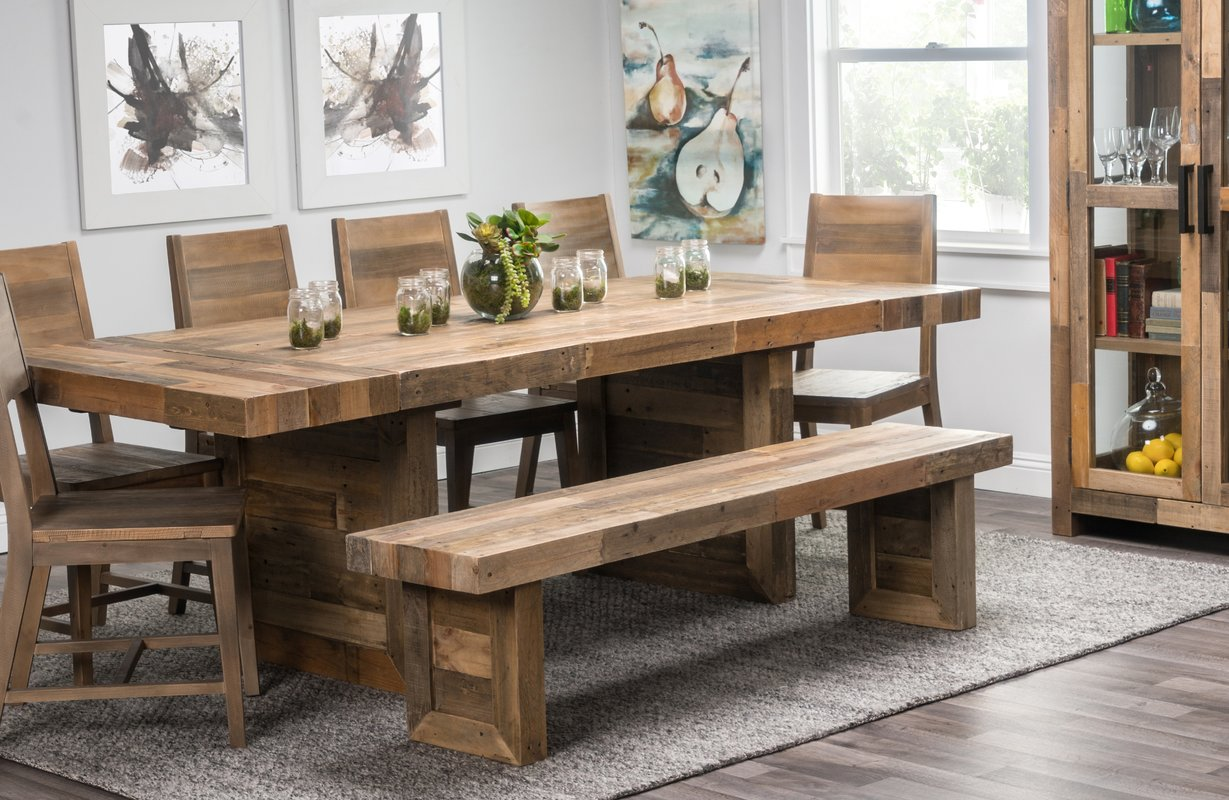 extendable dining table Needham 95 UHPOHNM