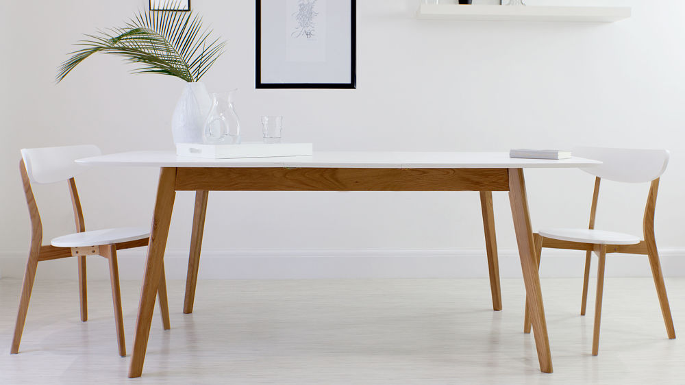 extendable dining table bed linen: lovely white extendable table 0 oak and extendable dining table 1 DILRACU