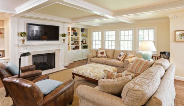 Family room How to design the perfect family room CWDRCLV