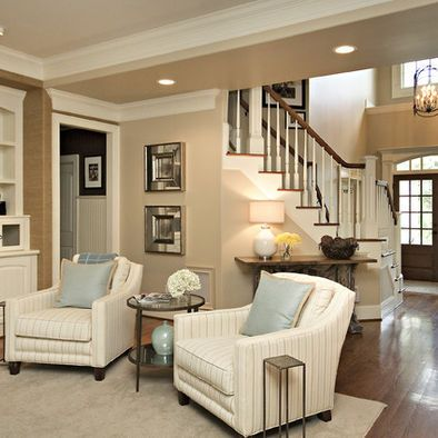 Family room Traditional family room design, pictures, remodeling, furnishings and ideas.  great wall WXZFWTC
