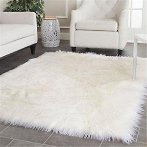 Sheepskin imitation rug Image is loading Best-Price-White-Sheepskin-imitation-rug-large-super- RKZNZIU