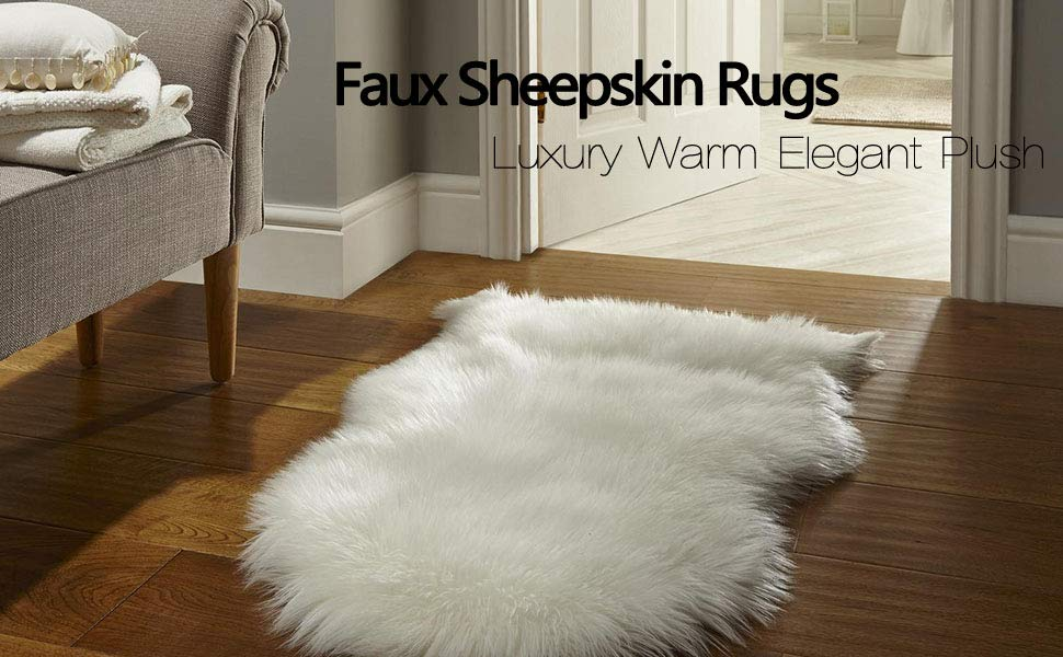 Simply place the faux fur rug on the cuddly and fluffy faux fur rug and sink your ODPALXA