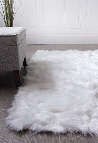 Faux sheepskin rug cheerful super soft faux sheepskin shag silky rug baby nurse ... https: / ZBAFJZC
