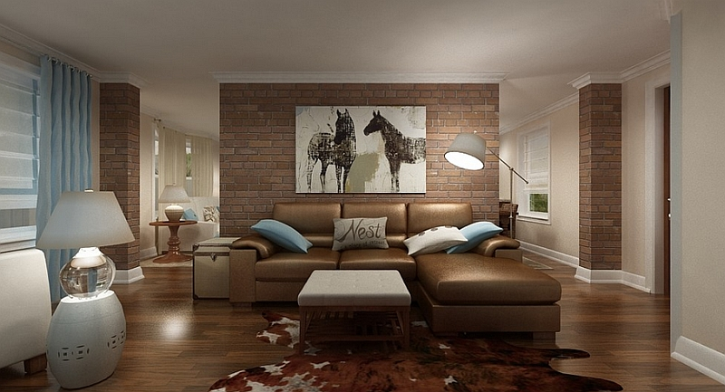 Feng Shui living room view in the gallery living room with a cozy and relaxed look YKTCIAX