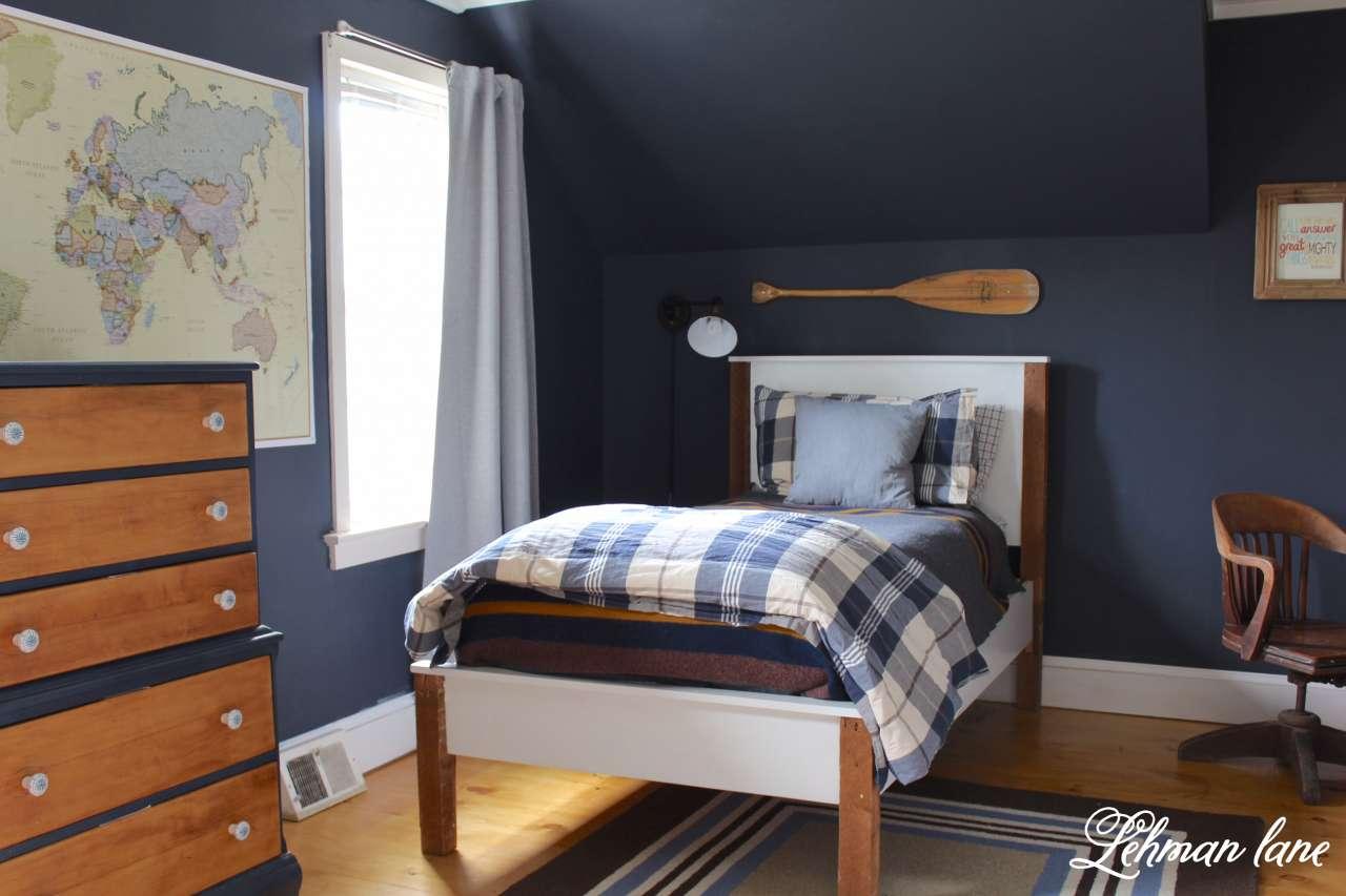 Final Revelation - Bennettu0027s Navy Boys Bedroom - Lehman Lane TLXOTSS
