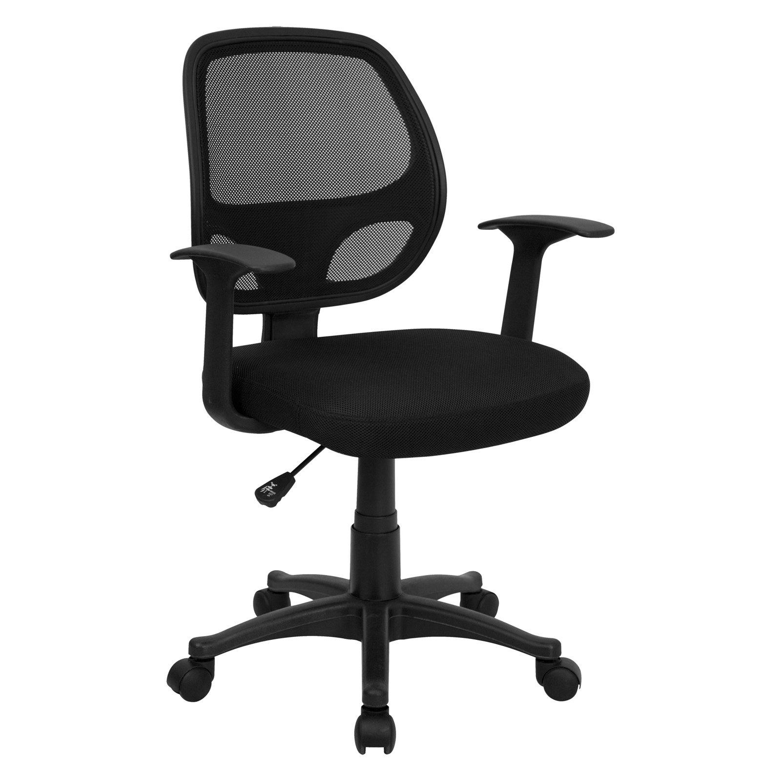 Flash Furniture computer chair with mesh back, black HIUACZK