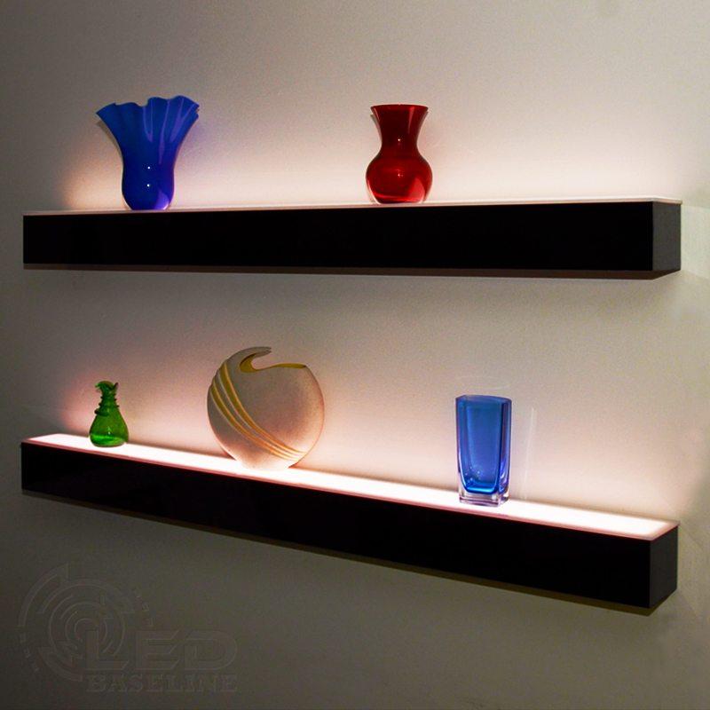 floating wall shelves 1-tier led floating shelf TYIPFLV