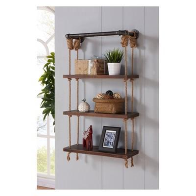 floating wall shelves brannon modern floating pine wall shelf 24 PLUTONI