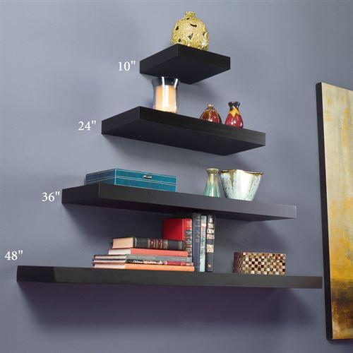 floating wall shelves manhattan black floating shelves HOYTIQF