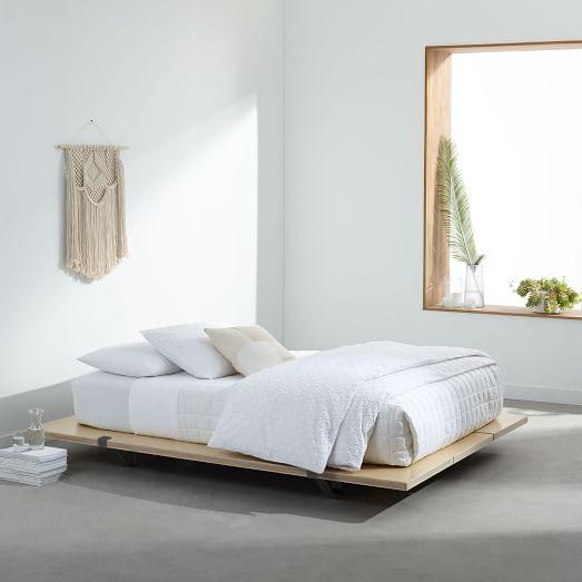 floyd platform bed, twin, black AUHXRHV