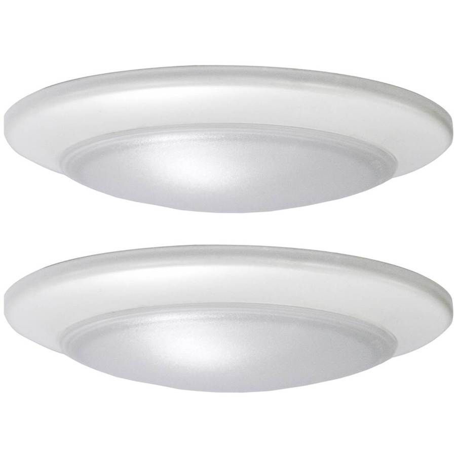Flush-mounted lighting project source 2-pack 7.4 inch w white LED flush-mounted light Energy Star MGYIQZV