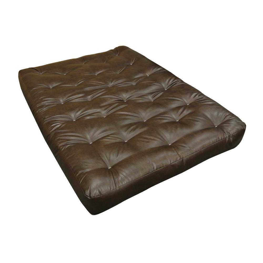 Futon mattress made of foam and cotton leather ILQTQBO