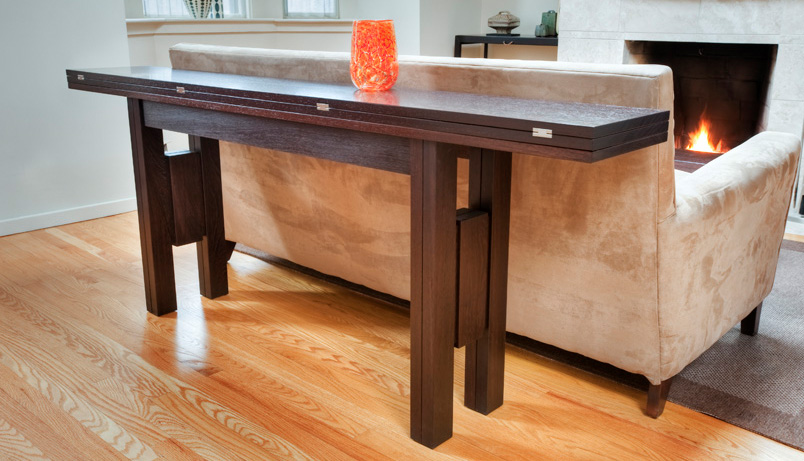 folding dining table transformer table PWOXMSU