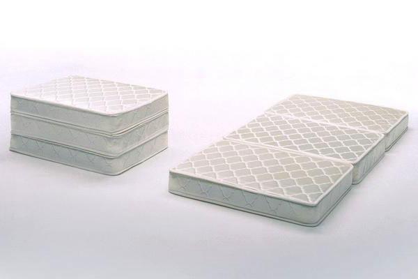 Folding mattress triple mattress single ivory s size OKEAOCI