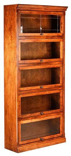 Forest Designs Mission Legal Barrister Bookcase KMKWZHF
