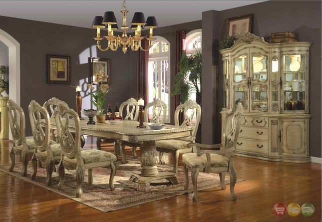 formal dining room sets antique white traditional formal dining room furniture set HBYTLZN