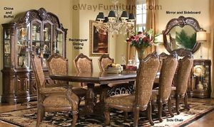 formal dining room sets Image is loading 7-piece-English-formal-dining-room-furniture-table- SRUTRAP