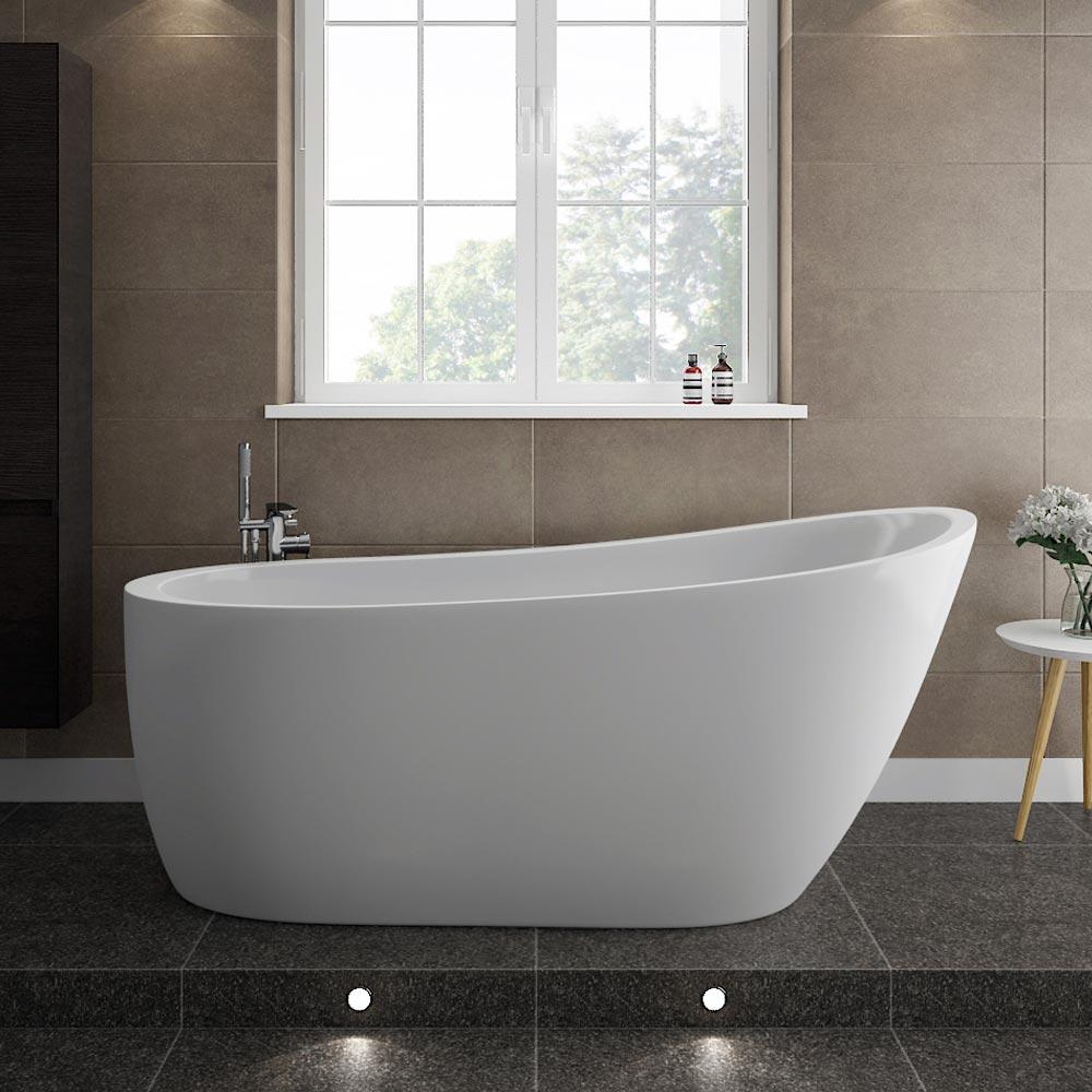 freestanding bathtub turin 1665 modern slipper freestanding bathtub medium image JRCMIAR