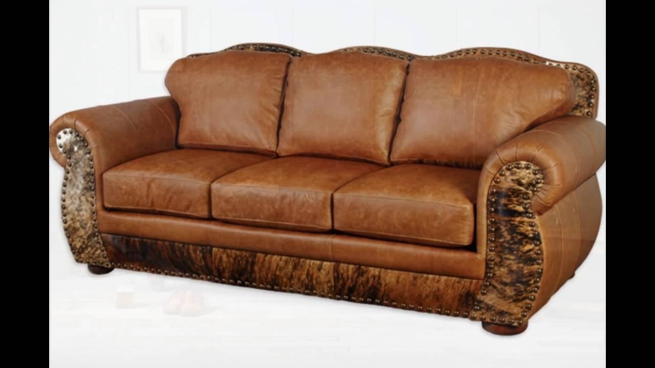 Full grain leather sofa IRBBZGV