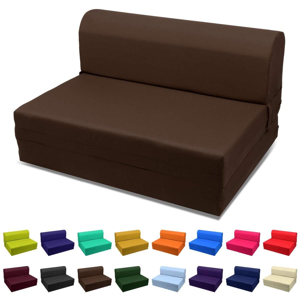 Full-size folding mattress amazon.com: Armchair folding foam bed choose color U0026-size single, twin ROSSRXN