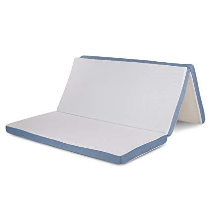 Full-size folding mattress Comfort & Relax triple folding mattress Topper 3 Aircell-Tech memory foam full LFEXBQL