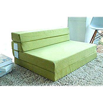 Full-size folding mattress fold Amazon com foam and sofa bed for AQYMTKL