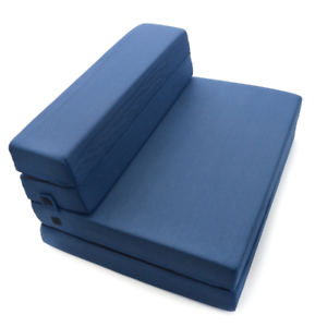 Full-size folding mattress Milliard tri-fold foam folding mattress and sofa bed for guests or floor HPKZZES