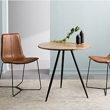 Small Space Furniture Wren Bistro Table - Raw Mango DBJKZGV
