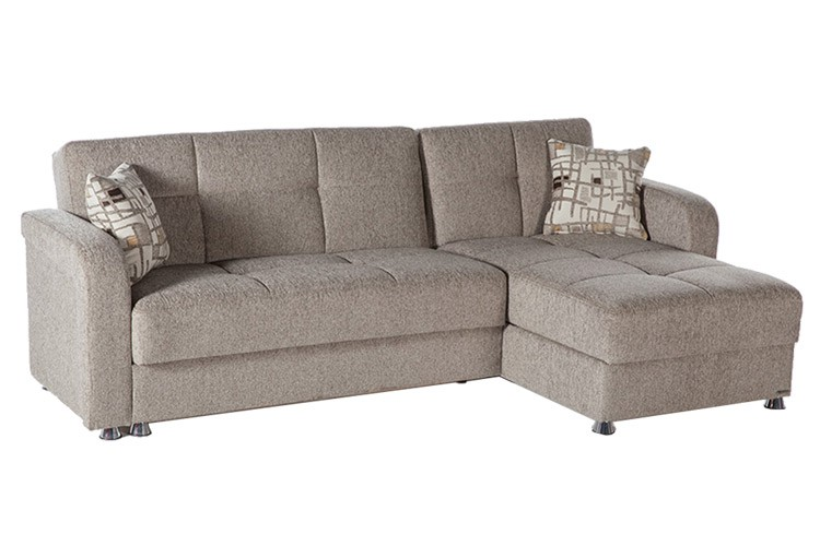 futon couch vision light brown upholstered modern futon sofa bed add-on vision-aristo-light brown-add-on sofa_lrg BRNRNKG