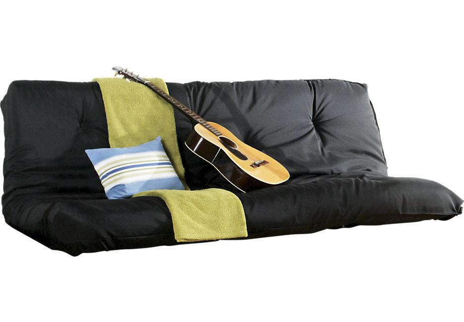 Futon mattress - futon mattress (black) AKSFTZI